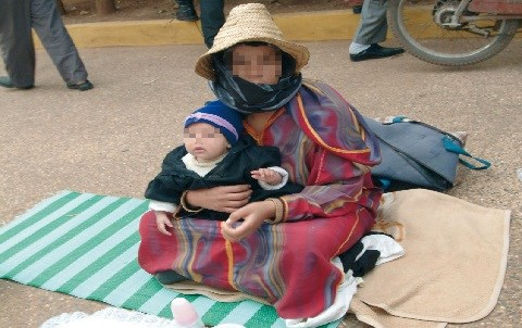 Mendiants maroc