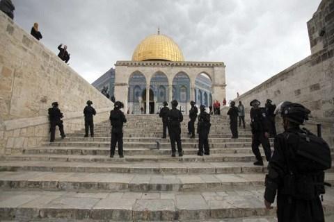Palestine esplanade des mosquees