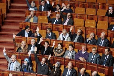 Parlement maroc vote loi de finances 2015