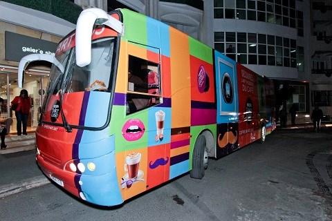 Art bus exposition maroc 2014