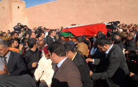 Inhumation du ministre d etat baha