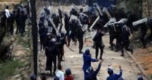 Manifestations et morts en Algérie