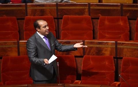 Ouzzine ministre sports maroc 2014