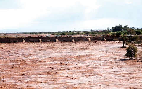 Inondations Maroc 2014