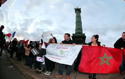 Manifestation charlie france janvier 2015 AFP