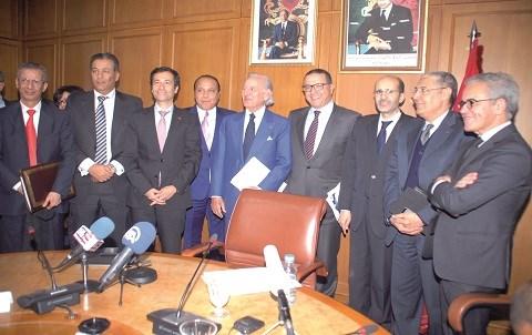contribution liberatoire banquiers au ministere finances maroc janvier 2015