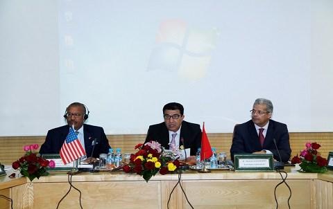 Ambassadeur americain au maroc et ministre moubdie gpo 2015