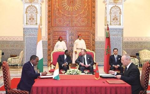 Conventions maroc cote d ivoire janvier 2015