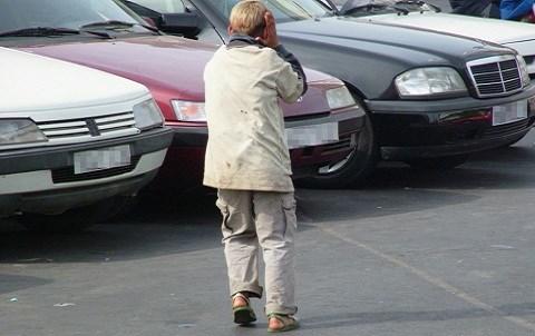 Enfant de la rue maroc