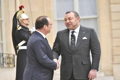 Hollande mohammedVI