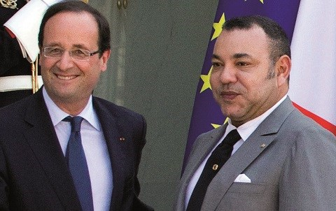 Mohammed VI Hollande