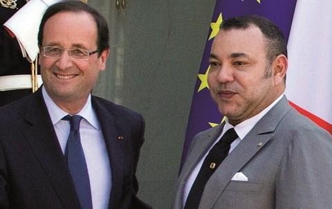 Mohammed VI Hollande