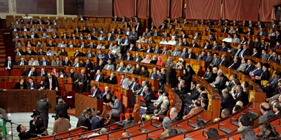 Session au parlement maroc