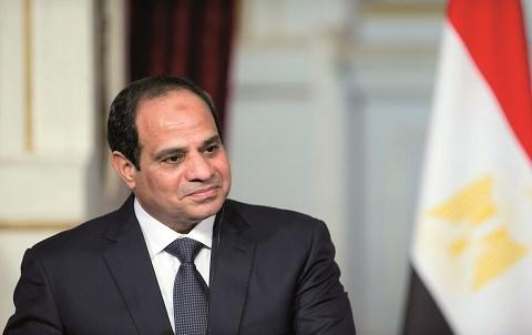 Al sissi president egypte 2015