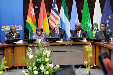 Conference chefs d etats a bruxelles sur ebola