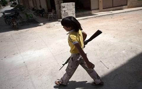 Enfant soldat syrie