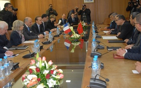 Fabius boussaid ministere finances rabat mars 2015