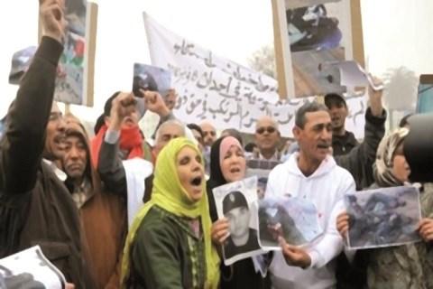 Familles des victimes de gdim izik
