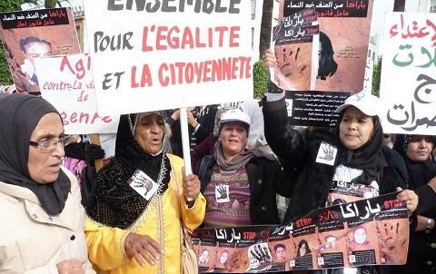 Femmes contre violence maroc