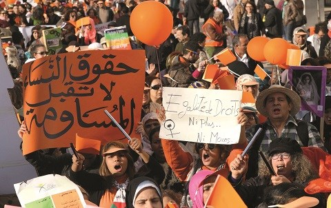Femmes maroc 8mars