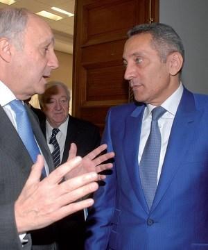 Laurent fabius et moulay hafid elalamy rabat mars 2015