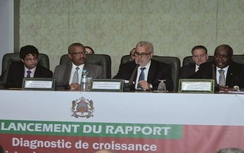 Maroc bad rapport croissance 2015