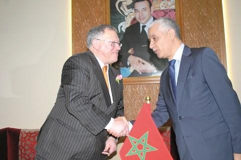 Parlements canadien jacques chagnion et marocain talbi alami