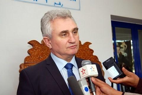 President du senat tcheque milan stick au maroc 2015