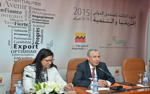 Zahra maafiri maroc export et mohamed el kettani awb fad 2015