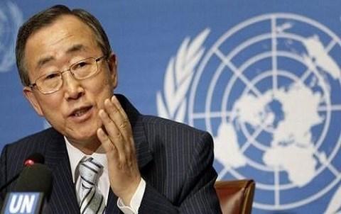Ban ki moon AFP