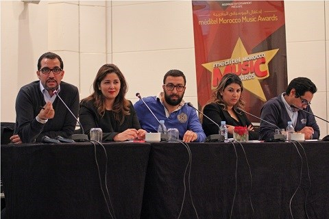 Conference meditel morocco music awards 2015