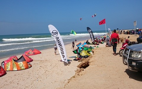 Dakhla kiteboarding world cup mars 2015