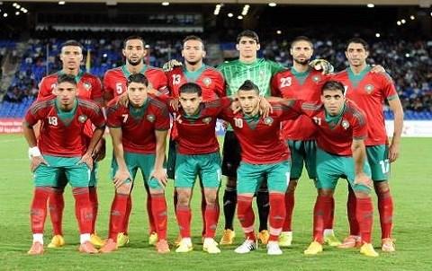 Equipe nationale maroc 2015