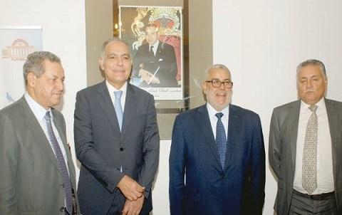 Laenser mezouar benkirane benabdellah chefs partis majorite maroc 2015