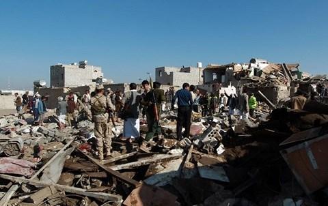 Le yemen sous les decombres AFP