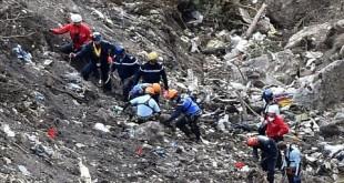 Les Alpes lieu du crash AFP