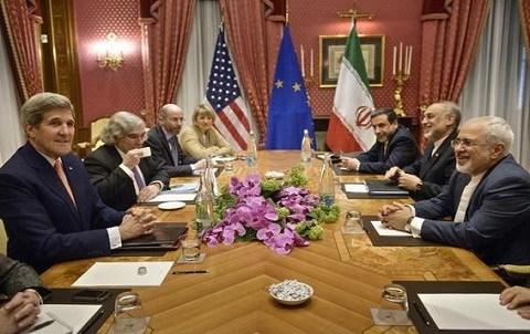 Negociations autour du nucleaire de l Iran a Lausanne mars 2015