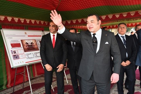 Roi mohammedVI lance plan strategique developpement kenitra avril 2015