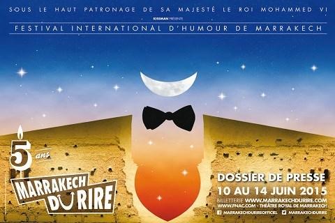 Affiche festival marrakech du rire