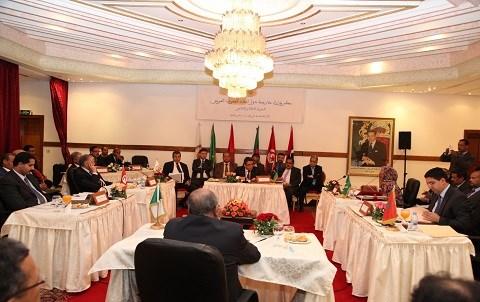 Conseil des ministres des affaires etrangeres maghreb rabat mai 2015