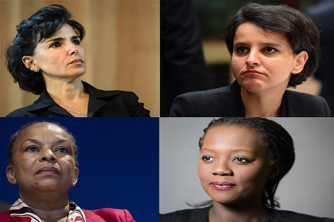 Dati taubira belkacem yade femmes ministres diversite franaise