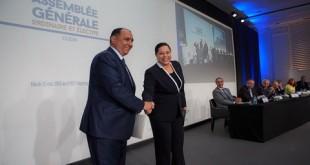 Patronant : un deuxième mandat pour Miriem Bensalah