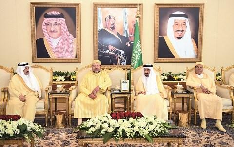 Le roi du maroc en arabie saoudite mai 2015