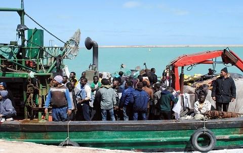 Migrants en mediterranee 2015 afp