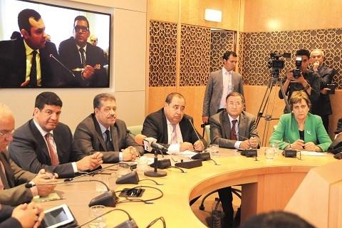 Opposition au parlement maroc