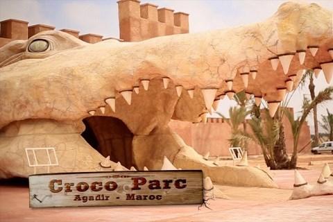 Parc crocodiles agadir