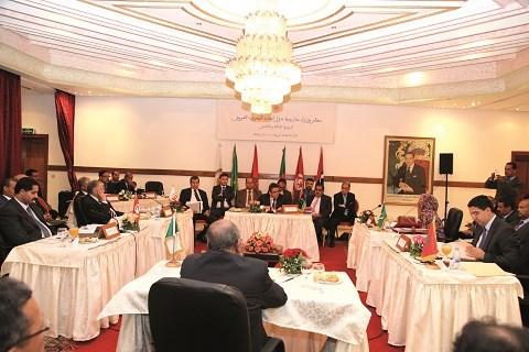 Uma reunion ministerielle maroc mai 2015
