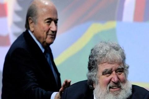 Blatter et blazer fifa