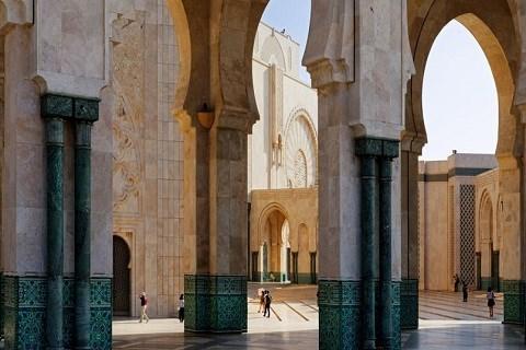 Casablanca mosquee hassanII