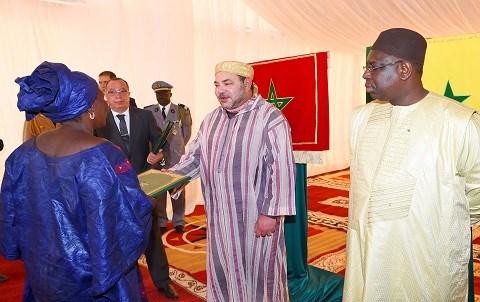 Ceremonie maroc senegal dakar mai 2015